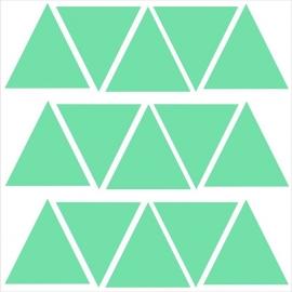 Strijkapplicatie strooi driehoekjes