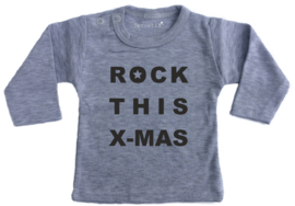 Kindershirt Rock this x-mas