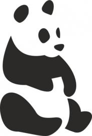 strijkapplicatie Pandabeer