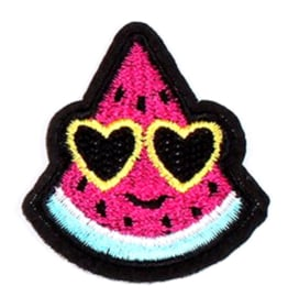 Patch  meloen zonnebril