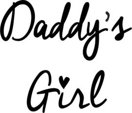 strijkapplicatie daddy's girl