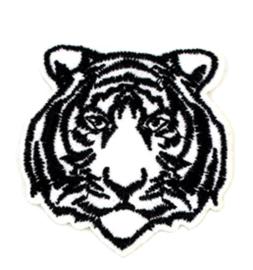 Patch tijger wit