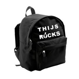 Rugtas met naam rocks