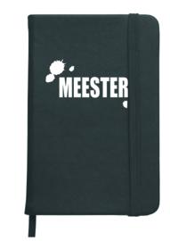 Notitieboekje  'meester'