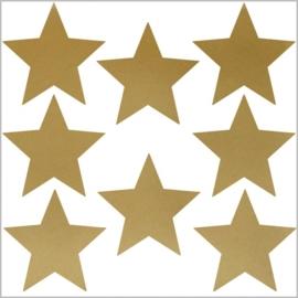 Strijkapplicaties strooi sterren
