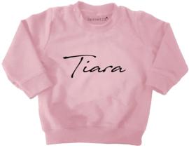 Sweater met naam (1)