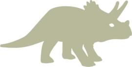 Muursticker Dino triceratops