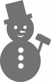 strijkapplicatie Sneeuwpop