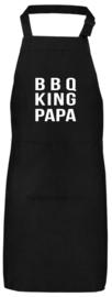 Schort BBQ king papa