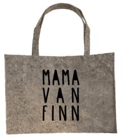 Vilten shopper Mama van ...