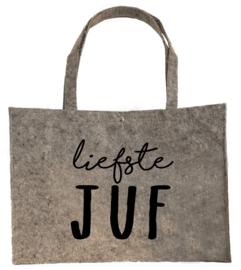 Vilten shopper Liefste juf