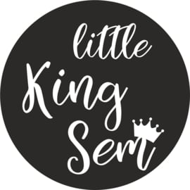strijkapplicatie little King naam