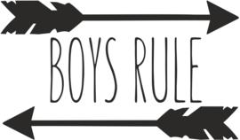 strijkapplicatie boys rule