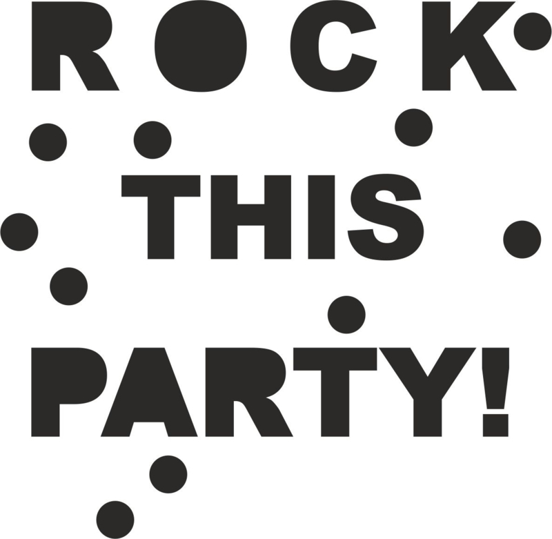 Rock this party! confetti