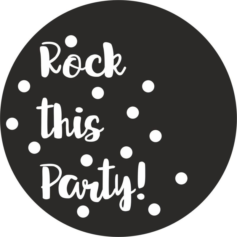 Verjaardag Rock.Let S Rock This Party Strijkapplicaties Verjaardag Sproetiz