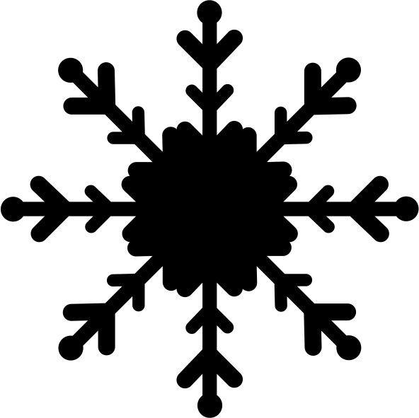 strijkapplicatie sneeuwvlok 4