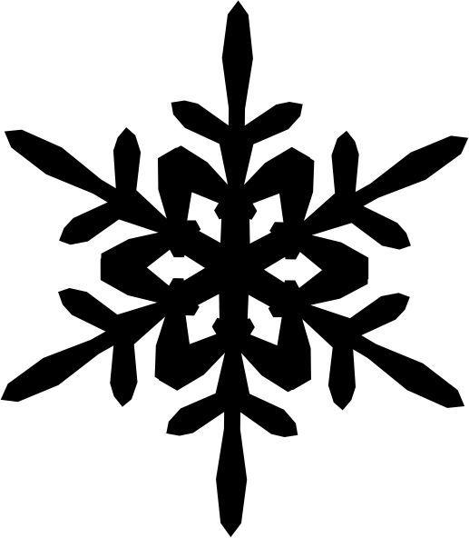 strijkapplicatie sneeuwvlok 9