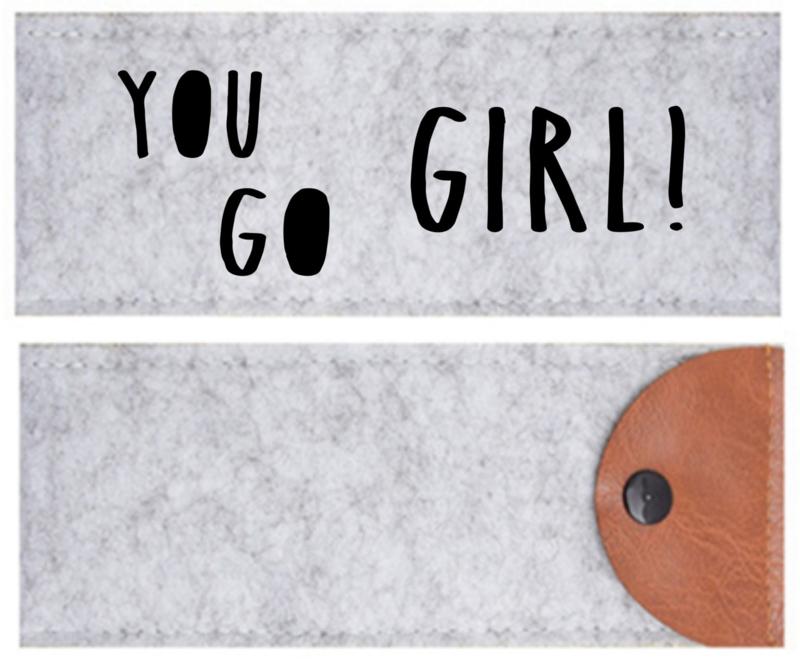 Etui vilt You go girl!
