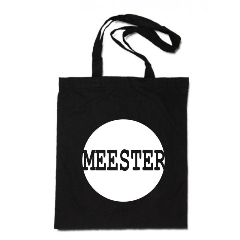 linnen tas -  Meester cirkel