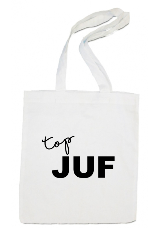 linnen tas -  Top Juf