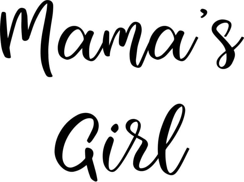 strijkapplicatie mama's girl 2