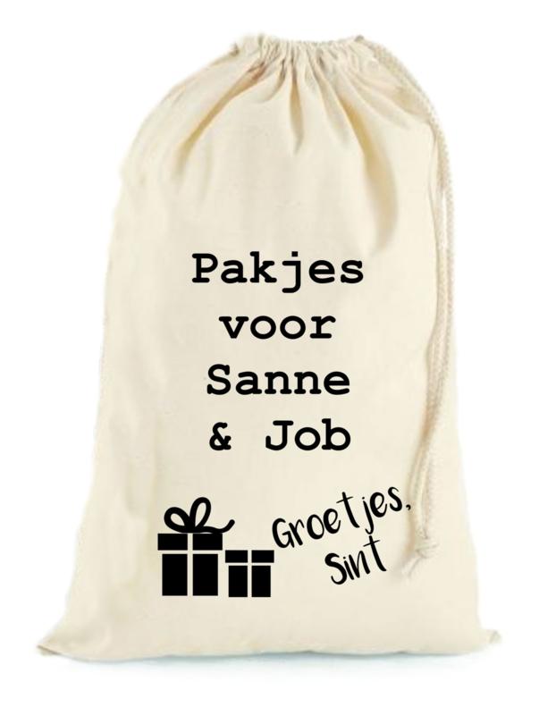 Sintzak -pakjes voor-
