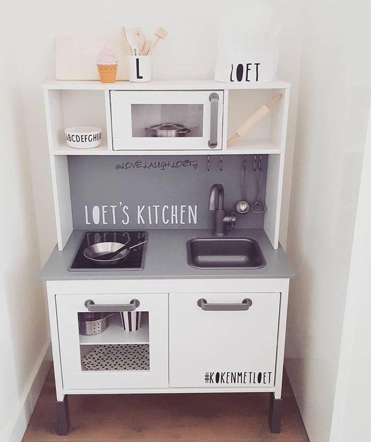 sticker ikea keukentje
