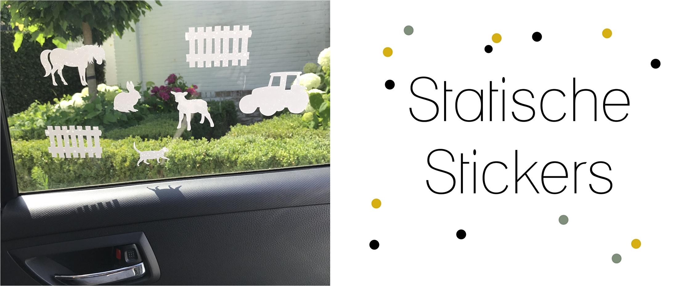 statische stickers autostickers