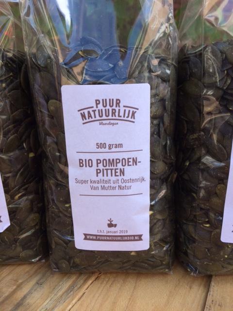 Biologische extra grote pompoenpitten Oostenrijk