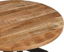 Ronde mango houten eetkamertafel Newton vanaf €425.-