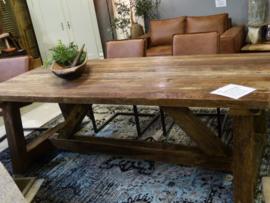 Stoere tafel met karakter heritage 240cm