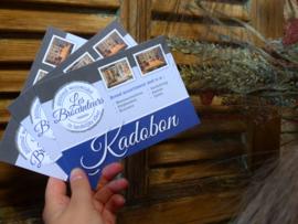 Kadobon €10.-