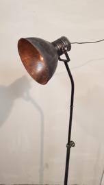 Rusty Old Black industrial floorlamp