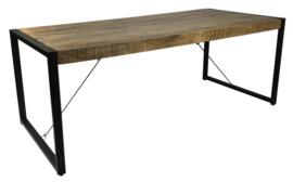 Eetkamertafel mangohout Brad vanaf €349.-