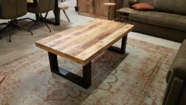 Mangohouten salontafel 130x70cm
