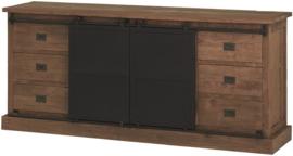 Industrial teak dressoir beethoven