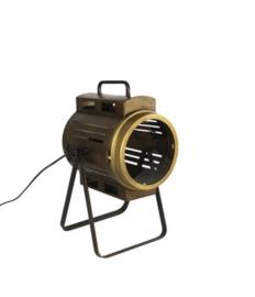 Tafellamp schijnwerperlamp brons fabian s