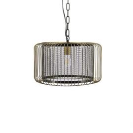Goudkleurige hanglamp mf1822