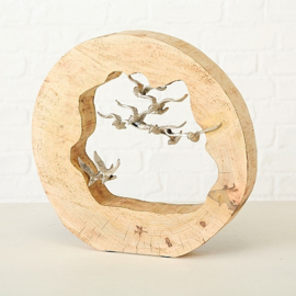 decoratief object '' vogels''