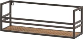 Wandrek mango hout metaal Indiana