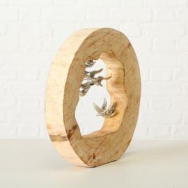 decoratief object '' vogels''