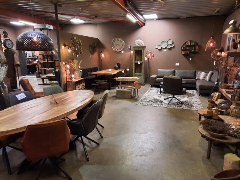 Landelijke industriele meubelen hal 1