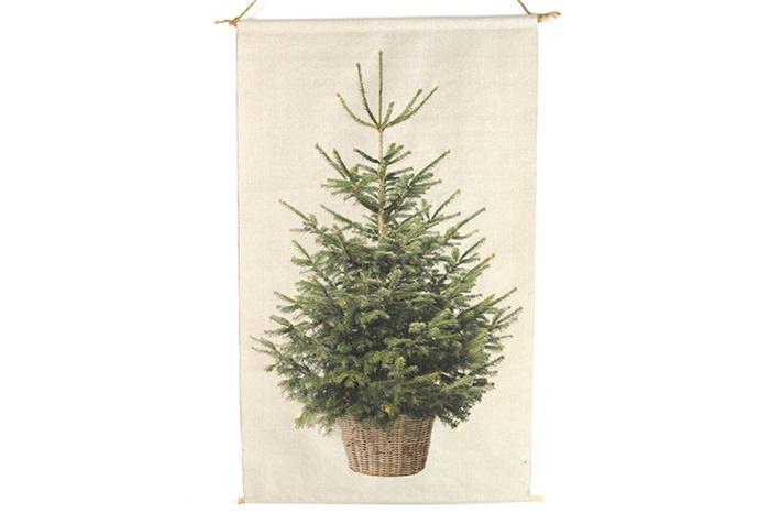 kerstboom met verlichting 2020 Kerstboom op canvas met led lichtjes m | Kerst 2020 | Les Brocanteurs