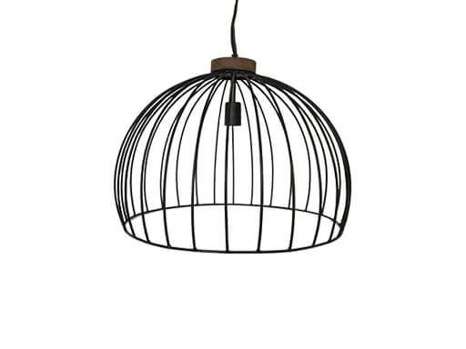 open industriële hanglamp Wim
