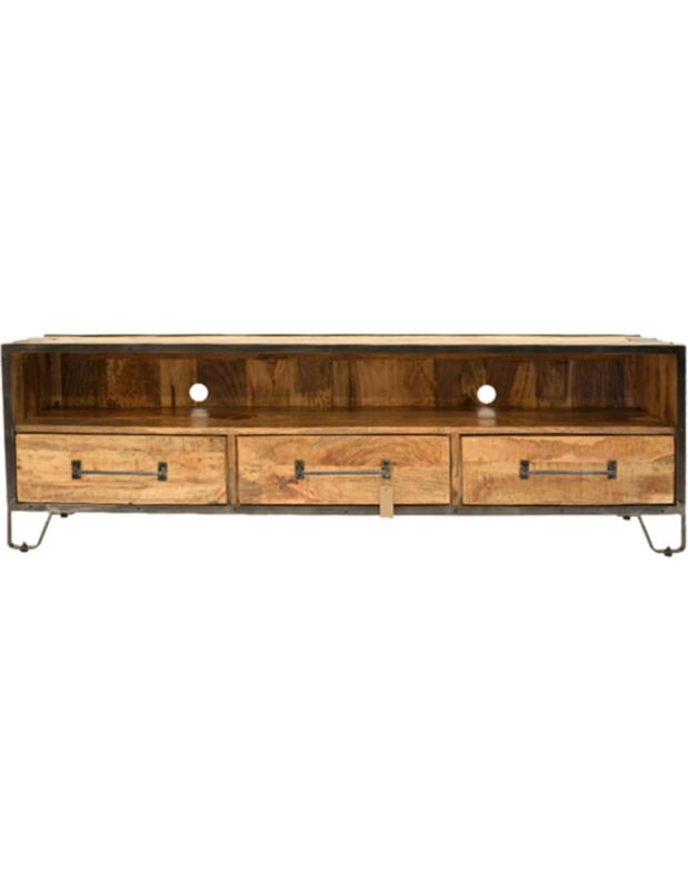 tv - meubel Bente 150 cm 3 lades