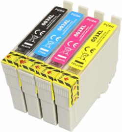 Geschikt 603XL inktcartridge SET 4 stuks hoge inhoud van inktpatronenexpress