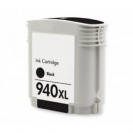 Geschikt HP 940XL Zwart C4906A cartridge van inktpatronenexpress