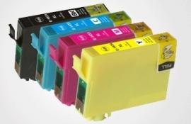 Set Epson T1291 tot T1294 huismerk met chip