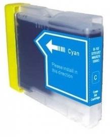 Geschikt Brother lc-970 / lc-1000 cyaan van inktpatronenexpress