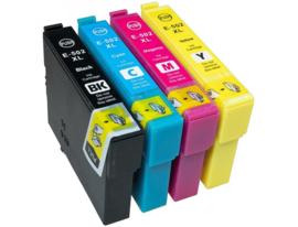 Geschikt Epson 502XL inktcartridge set hoge inhoud van Inktpatronenexpress